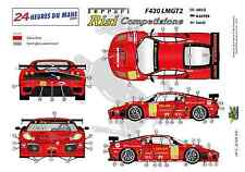 "[FFSMC Productions] Decals 1/32Ferrari F-430 LMGT2 ""Team RISI"" (LM 2009)"