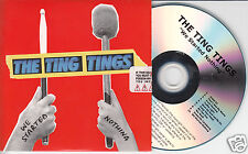 THE TING TINGS We Started Nothing UK 10-trk promo numbered test CD sealed