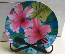 Dishwasher Safe Floral New 18 x 7.4 x .6 Appetizer Tray by Mainstays