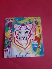 """Lisa Frank tiger sticker 2""""x 2""""(free ship $20 min)"""