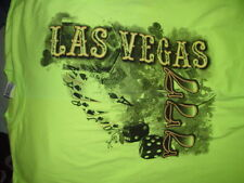 Las Vegas Neon Green T-Shirt Size X Large