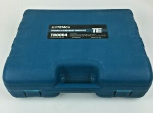 """TEMCo TH0004 2"""" HYDRAULIC K.O. PUNCH Elect. Conduit Hole Cutter (Metric Threads)"""