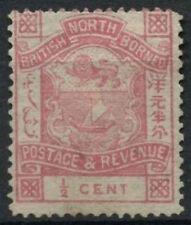 North Borneo 1888-92 SG#36b 1/2c Rose Unused No Gum #D10139