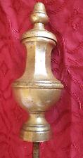 1 éléments décoratif laiton escalier meuble ancien /  piece of period furniture
