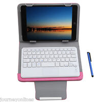 Universal Wireless Bluetooth Keyboard Touch Control Tablet Protective Case 7/ 8""