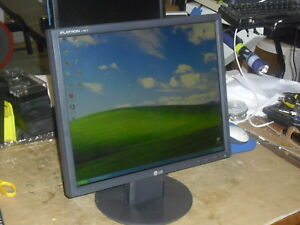 """LG Flatron 19"""" LCD Monitor L1951S-BN, Excellent Condition"""
