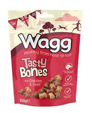 Wagg Tasty Bones Treats - 150g x 1PK