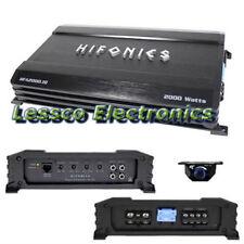 Hifonics HFA2000.1D Class D Mono Block 2000W Car Truck Auto Van Amp Amplifier