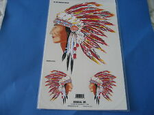 INDIAN Chief TESTE Decalcomania Sticker per i veicoli & MOTO W33