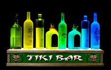 2' LED bottle display / shot glass bar display TIKI bar sign LED REMOTE CONTROL