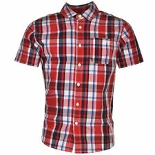 Button Down Checked T-Shirts & Tops (2-16 Years) for Boys