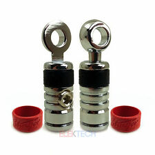 "Set of Two Stinger SPT524 Ring Terminals 4-Gauge Input to 5/16"" Ring PAIR Qty: 2"