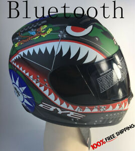 Bluetooth motorcycle helmet used for phones music Motorbike full face helmet New
