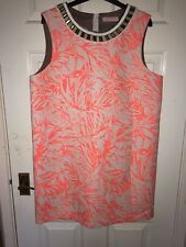 Matthew Williamson Beaded Dress UK 16 Neon