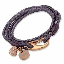 Crystal Leather Friendship Costume Bracelets