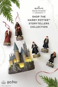 2019 2020 Harry Potter Hallmark Storyteller Set of 5 - Brand New!