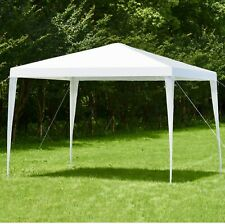White Outdoor 10 x 10 Wedding Party Patio Canopy Tent Water Proof UV Resistant