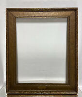 "VTG. Arts Crafts Art Deco Mid Century Wood Picture Frame Fits 15""x 19"""