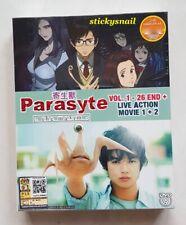 Anime DVD Parasyte the maxim Vol. 1-26 End + 2 Live Action Movie ENG SUB Reg 0