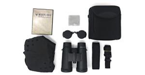 Woodland Optics Elbert 8x42 HD BAK4 Roof Prism Binoculars w Harness ED Glass NEW