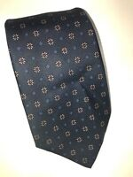 Brooks Brothers Makers Mens Neck Tie Blue Multi-Color 100% Silk