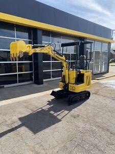 NEW! DHE1.3D mini excavator 2,600lb w/6 attachments Diesel kubota 3cyl engine⛽️