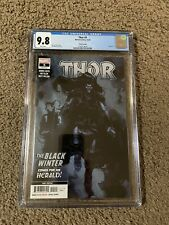 THOR #5 THIRD 3RD PRINT Variant CGC 9.8 1ST APPEARANCE OF THE BLACK WINTER 🔥