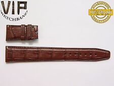 NEW OEM Authentic IWC strap 22 mm alligator  BROWN