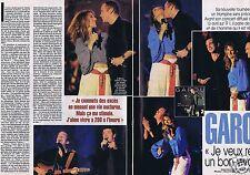 Coupure de presse Clipping 2002 Garou Bruno Pelletier  (4 pages)