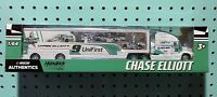 1/64 Chase Elliott '20 ALL STAR Bristol WIN Chevy 9 NASCAR TRUCK Hauler UniFirst