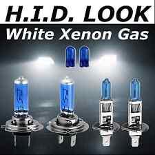 H7 H1 501 100w 477 448 White Xenon HID Look Headlight Low High Beam Bulbs Pack