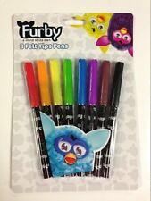 Furby Pièce 8 paquet Feutre Pointes Stylo / Marqueur Cadeau Tout Neuf