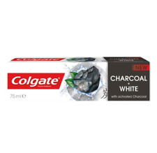 Colgate Charcoal White Toothpaste Natural Extract Teeth Whitening Activated 75ml