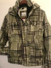 OAKLEY Hooded Woman's Snowboard/Ski Jacket Thinsulate XS Extra Small Reg Fit
