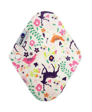 Cloth Menstrual Pad, Bamboo Charcoal Mumma Cloth Regular - Minky Deer