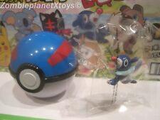 POKEMON Sun Moon GET COLLECTIONS  POPPLIO  Plastic Figure Toy NINTENDO in BALL