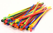 C23386COLOR Integy Mixed Color Plastic Tie Wrap / Cable Tie (100) Small Size