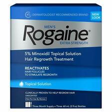 Rogaine Men's EXTRA STRENGTH 5% Solution SEALED BOX MINOR WEAR TEAR 🇨🇦