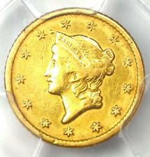 1851-O Liberty Gold Dollar Coin G$1 - Certified PCGS VF Details - Rare Coin!
