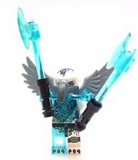 Lego Minifigure Legends of Chima Voom Voom Fire vs Ice Blue Guantlet 70146 LOC74
