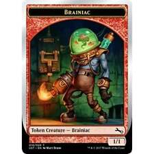 Magic The Gathering MTG Unstable FOIL Brainiac Token x 4