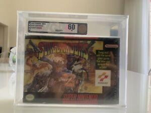 Sunset Riders Super Nintendo Brand New VGA 60 snes Wata