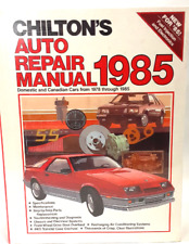 Chilton's Auto Repair Manual 1978 -1985 Hardcover Reference Book New in Plastic