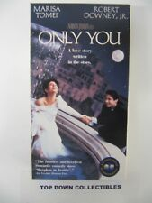 Only You   Marisa Tomei, Robert Downey, Jr.      VHS  Movie  Like New
