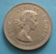 5 Shilling Elisabetta II - SUDAFRICA 1956 - Argento - nr. 674
