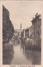 VICENZA - Il Retrone del Ponte Furo 1917