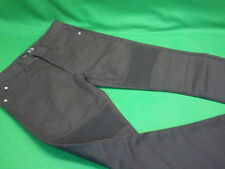 32 x 32 BLACK JEANS with Ribbed Detailing NWT