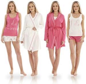 Ladies I Do Crew Bridesmaid Hen Party Pyjamas Dressing Gown PJ'S Nightwear