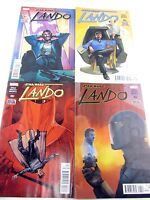 STAR WARS #1 2 3 4 set  LANDO Calrissian Soule Maleev Mounts  Marvel 2015 comics
