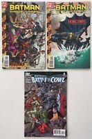 Detective Comics 736, Batman Shadow of the Bat 93, Battle for the Cowl 3 Harley